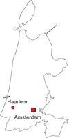 Gratis digitale kaart Noord-Holland