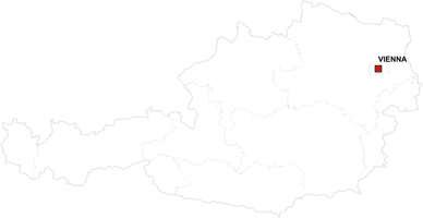 Gratis digitale kaart Oostenrijk