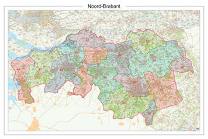 Postcodekaart Provincie Noord-Brabant 618