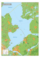 IJsselmeerkust regiokaart