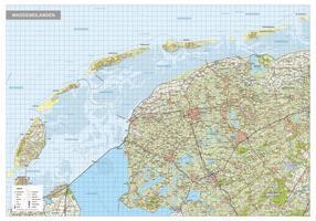 Waddeneilanden / Waddenzee regiokaart