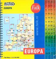 Routiq autokaart Europa Tab Map