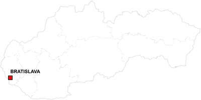 Gratis digitale kaart Slowakije