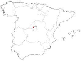 Gratis digitale kaart Spanje