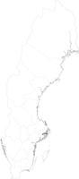 Gratis digitale kaart Zweden