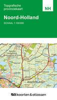 Kaart Noord-Holland schaal 1:100.000