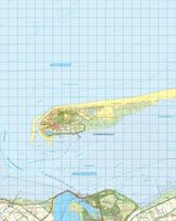 Digitale Topografische Kaart 2 Oost Schiermonnikoog