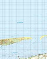 Gevouwen Topografische Kaart 2 West Schiermonnikoog