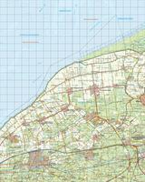 Digitale Topografische Kaart 5 Oost Harlingen