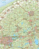 Digitale Topografische Kaart 6 West Leeuwarden