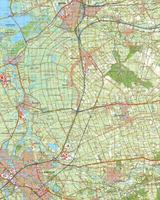 Digitale Topografische Kaart 21 Oost Zwolle