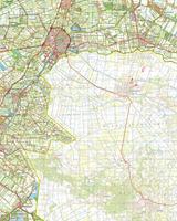 Topografische Kaart 22 Oost Coevorden