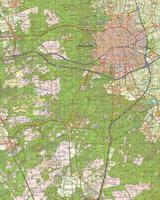 Digitale Topografische Kaart 33 West Apeldoorn