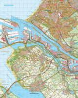 Topografische Kaart 37 West Rotterdam