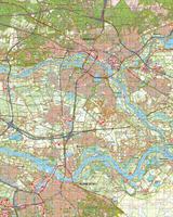 Digitale Topografische Kaart 40 West Arnhem