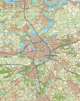 Digitale Topografische Kaart 45 West 's-Hertogenbosch