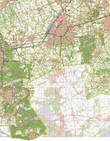 Digitale Topografische Kaart 49 Oost Bergen op Zoom