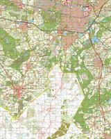 Digitale Topografische Kaart 50 Oost Tilburg