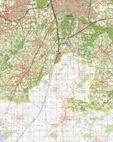 Digitale Topografische Kaart 50 West Tilburg