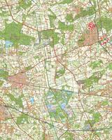 Digitale Topografische Kaart 52 West Venlo
