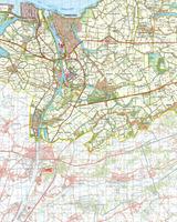Gevouwen Topografische Kaart 54 Oost Terneuzen
