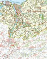 Digitale Topografische Kaart 54 Oost Terneuzen