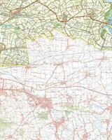Digitale Topografische Kaart 54 West Terneuzen