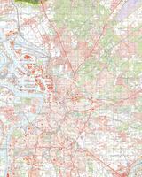 Topografische Kaart 55 Oost Hulst