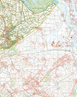Digitale Topografische Kaart 55 West Hulst