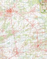 Gevouwen Topografische Kaart 56 Oost Reusel