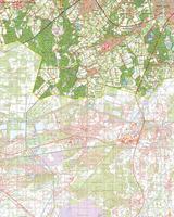Gevouwen Topografische Kaart 57 West Valkenswaard