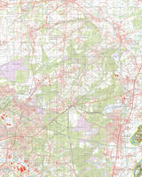 Gevouwen Topografische Kaart 59 Oost Meers