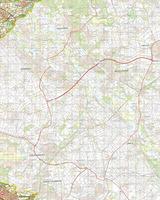 Gevouwen Topografische Kaart 60 Oost Sittard