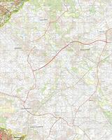 Digitale Topografische Kaart 60 Oost Sittard