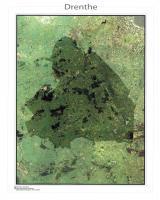Satellietkaart Drenthe