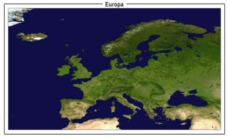 Digitaal Satellietbeeld Europa 1332