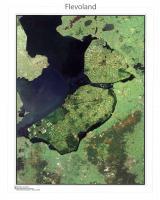 Satellietkaart Flevoland
