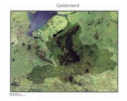 Digitale Satellietkaart Gelderland