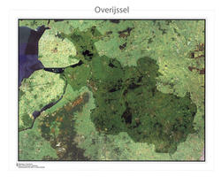 Satellietkaart Overijssel