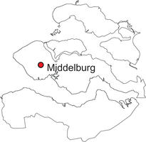 Gratis digitale kaart Zeeland