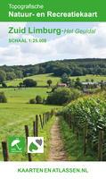 Kaart Zuid Limburg - Het Geuldal