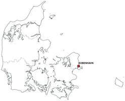 Gratis digitale kaart Denemarken