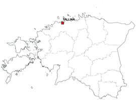 Gratis digitale kaart Estland