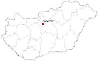 Gratis digitale kaart Hongarije