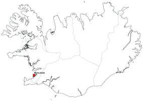 Gratis digitale kaart Ijsland