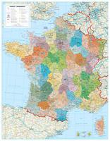 Postcodekaart Frankrijk