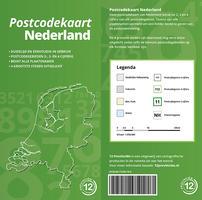 postcodekaart voorflap en achterflap