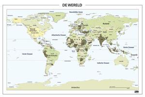 staatkundige wereldkaarten