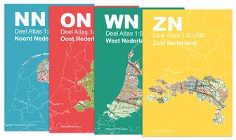 Topografische Atlas Nederland